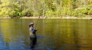 New york state licensed fishing guide joe rist fly for Julie s fish creek